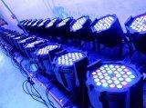 luz do estágio da luz da PARIDADE do diodo emissor de luz de 24/36*4W RGBW 4in1/diodo emissor de luz