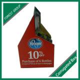 Sechs Satz-Wein-Träger-Papierkasten mit kundenspezifischem Drucken