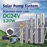 DC 24V 태양 수도 펌프 입력 파워 120W
