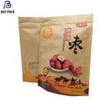 La lamination sac de plastique de l'emballage des aliments de collation pour les noix, les dates