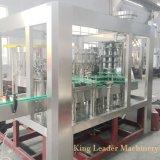 Botella de vidrio totalmente automática máquina de producción de llenado de bebidas carbonatadas