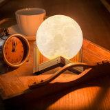 2018 Nova chegada Moonlight Lamp Luz noturna candeeiro de mesa LED