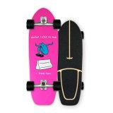 Fabriek Direct Sale Hout Maple u-vormig dek Anti-Slip Sand op maat Esdoorn Multilayer Houten Surfdek Skateboard