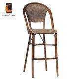 Patio meubles chinois Textilene tabourets de bar en aluminium (TC-08026)
