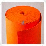Style de la plaine de polyester non tissé Tissu feutre de couleur