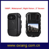 1080P полиции DVR 2'' полицейского органа износ внешней поддержки камеры камеры и пульт дистанционного управления