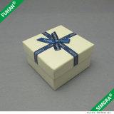 Boîte de montre en papier carrée imprimée personnalisée