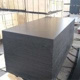 Madera fenólica Shuttering hecha frente película negra del álamo del pegamento (9X1250X2500m m)
