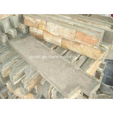 Природные Quartzite плитки камня цемента из шпона камня для монтажа на стену