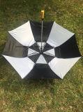 2 يطوي لعبة غولف مظلة مع سيّارة أسلوب مفتوح
