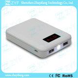 8000mAh Portable Charger Rectangle Dual Bank USB-Port Power mit LED Display (ZYF8065)