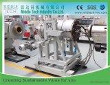 Chaîne de production simple d'extrusion de pipe de PVC du HDPE PPR de PE de boudineuse à vis