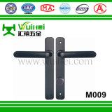 Maniglia di alluminio del doppio della finestra di scivolamento e della serratura di portello senza tasto (M009)