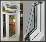 La Chine usine auvent fenêtre en vinyle PVC avec certificat CE