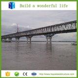 Ponte de aço portátil galvanizada das construções de aço/ponte de Bailey