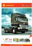 Sinotruck HOWO A7 4X2のトラクターのトラックの/Trailerのトラックかトラクターヘッド