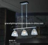 Канделябр украшения привесного светильника профессионального изготовления освещения стеклянный (GD-6118-6)