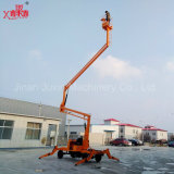 Elevación hidráulica articulada móvil del hombre de la venta caliente
