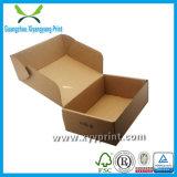 Caja de cartón ondulado de papel personalizado con ventana al por mayor