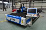 Grand coupeur de laser de commande numérique par ordinateur de feuillard de pouvoir, machine de laser pour l'aluminium, acier, de plaque métallique