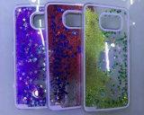 Caisse liquide de sable mouvant de sable de téléphone cellulaire de téléphone mobile de PC annexe du cas 3D pour Samsung S5/S6/S7 pour Samsung J2/J4/J5/J7