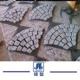 G603 G687 G664 G654 G602 자연적인 까만 현무암 또는 슬레이트의 또는 넘어진 또는 사암 또는 Porphyr 또는 화강암 돌 포장 도로 입방체 또는 포장 기계 돌 또는 포석