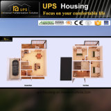 Chambre préfabriquée en acier galvanisée résidentielle permanente de technologie neuve