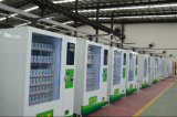 Pantalla táctil de alimentación de la fábrica de la máquina expendedora de latas de bebida para botellas