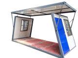Site de construction de la cabane de conteneur de pliage à bas prix chambre