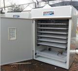 Incubateur approuvé d'oeufs de poulet de la CE de Digitals hachant la machine