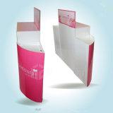 Conception personnalisée du carton ondulé rond supermarché Rack d'affichage affichage papier / carton papier/affichage de palette