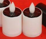 Zonne Aangedreven Kaarsen voor de Decoratie van het Huis, de Decoratie van de Binnenplaats enz.