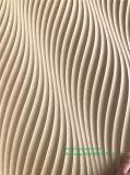 3D em relevo decorativa do painel de parede MDF para revestimento de parede