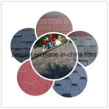 Ripias coloridas del asfalto para la cubierta de azotea e impermeabilización con precio de fábrica