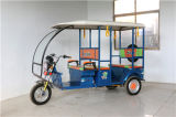 通りの可能な電力車の乗客の三輪車