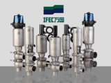 Гигиеничная из нержавеющей стали клапан реверса (IFEC-HV100002)