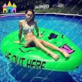PVC Air Inflatable Flutuante Alienware e Aliens Saucer Man Floats