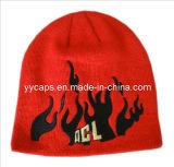 빨간 자수에 의하여 뜨개질을 하는 모자 (YYCM-120376)