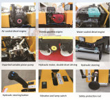 Petits rouleaux de route manuels de rouleau lisse vibratoire de tambour (FYL-800C)