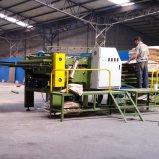 Máquina automática de empalme horizontal de 4 pies Máquina de carpintería para chapas de unión