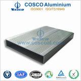 Aleación de aluminio de OEM para Audio Gabinete con el mecanizado CNC