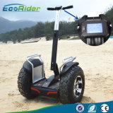 2016 vespa eléctrica de Ecorider con los pedales, vespa de equilibrio del uno mismo, Unicycle eléctrico de dos ruedas