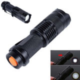 2500lm 조정가능한 Zoomable Xm-L T6 LED 플래쉬 등 토치 초점 빛 램프