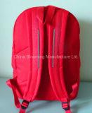 학교 부대 책가방으로 다시 빨간 폴리에스테 여학생 문구용품