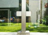 Edelstahl-Balkon-Glasgeländer/Edelstahl-Glasbalustrade/ausgeglichenes Glas-Geländer