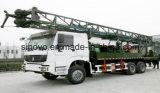 SIN400st 트럭은, 400m 깊이 회전하는 우물 드릴링 리그 거치했다