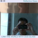 反射ガラスおよびフロートガラスが付いている薄板にされたガラス