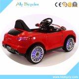 車PUの革シートの電池式の車輪乗の12V子供