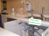 Acqua alcalina Ionizer (tecnologia del Giappone, fornitore della Cina) con il filtro incorporato da uF ed il filtro da External (Q9A)