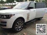 Range Roverは電気踏板を遊ばす